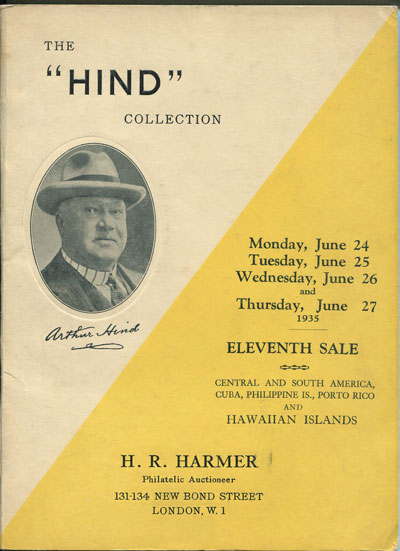 1935 (24-27 Jun) Hind sale no. 11 - Central and South America, Cuba, Philippine Islands, Porto Rico and Hawaii