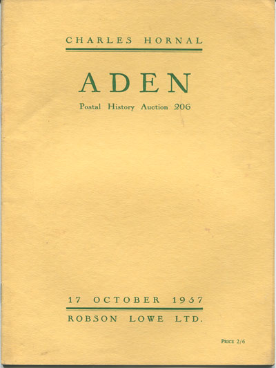1957 (17 Oct) Charles Hornal Aden