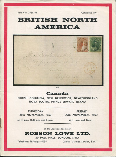 1963 (28-29 Nov) British North America.
