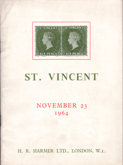 1964 (23 Nov) E.K. Lickfold St Vincent.