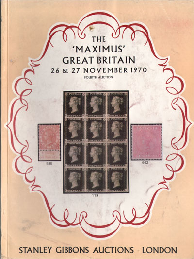 1970 (26-27 Nov) The Maximus Great Britain collection.