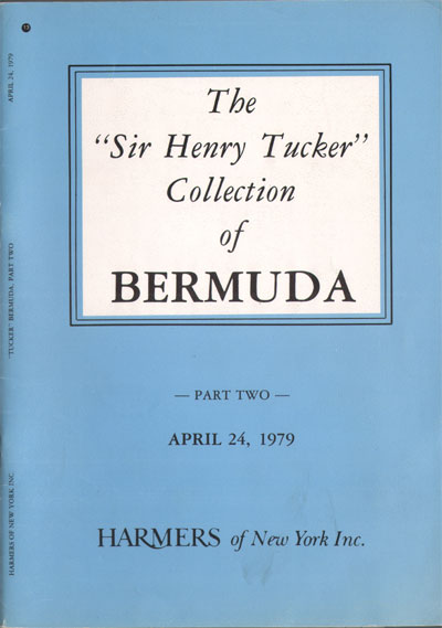 1979 (24 Apr) Sir Henry Tucker collection of Bermuda. - (Part 2)