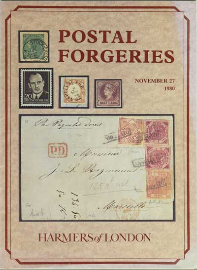 1980 (27 Nov) Postal Forgeries.