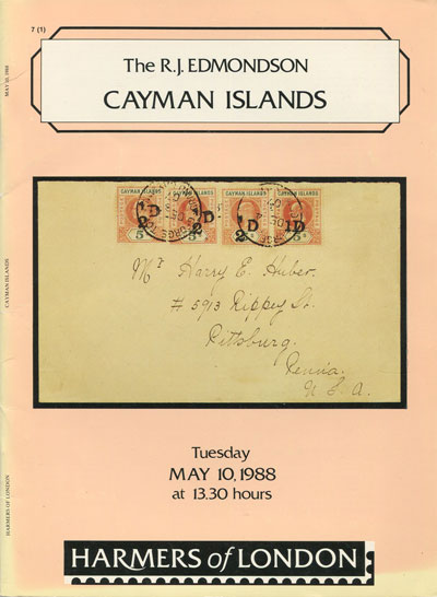 1988 (10 May) R.J. Edmondson coll. of Cayman Is.