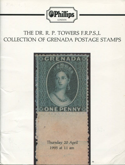 1995 (20 Apr) Dr R.P. Towers collection of Grenada.