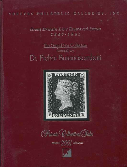 2001 (15 Mar) Dr Pichai Buranasombati collection of Great Britain Line Engraved issues