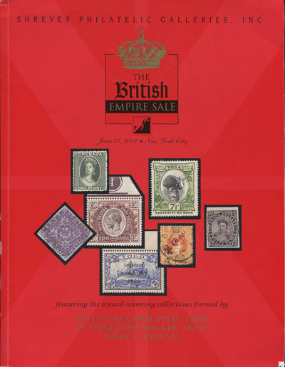2003 (27 Jun) British Empire Sale.