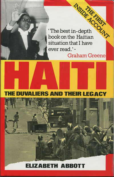 ABBOTT E. Haiti.  The Duvaliers and their legacy