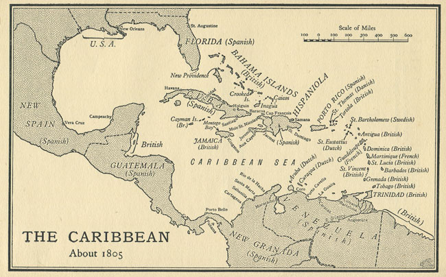 Best British West Indies Map Photos - Printable Map - New ...
