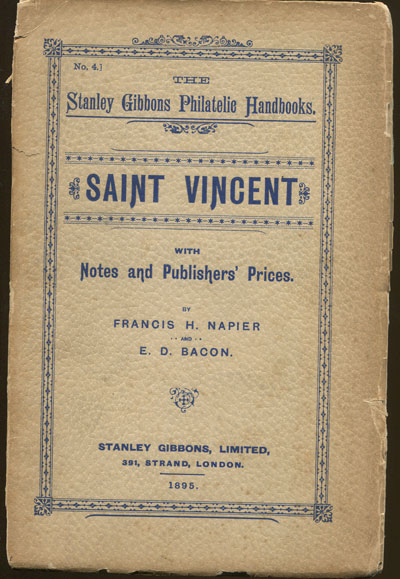 BACON E.D. and NAPIER F.H. St Vincent, - with notes and publishers