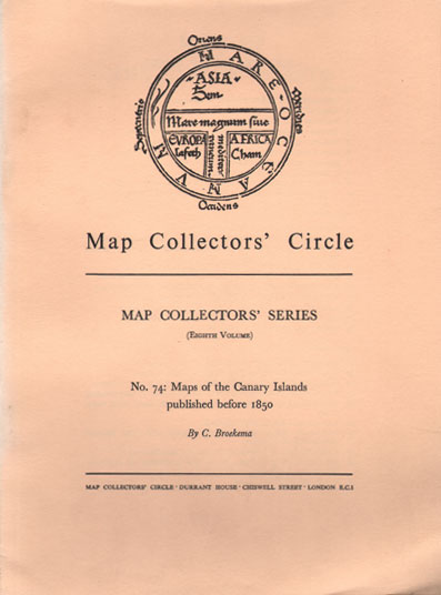 BROEKEMA C. Map Collectors