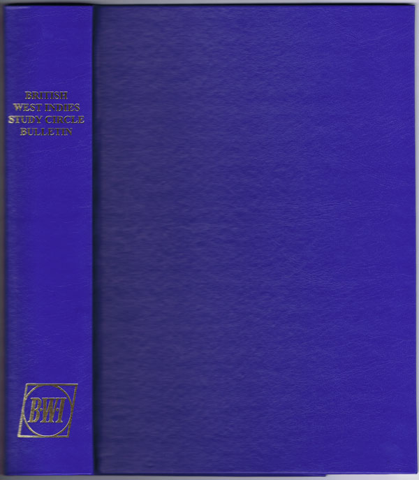 BWISC Cordex binder for bulletins 188 onwards holding 20 issues.