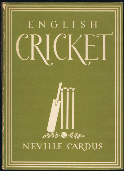 CARDUS N. English Cricket. - Britain in Pictures Series.
