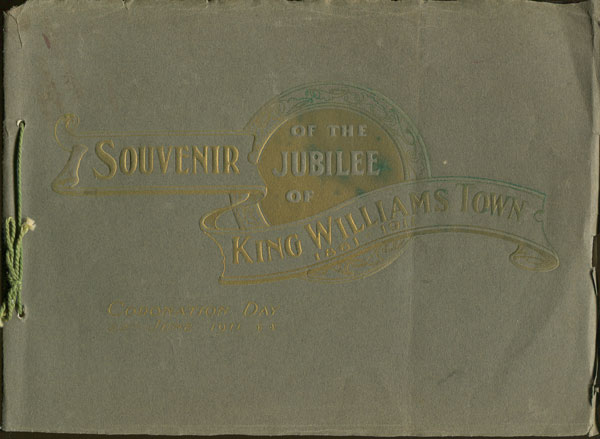 COGH Souvenir of the Jubilee of King William