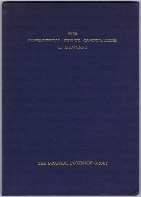 DOUGLAS J. The Experimental Duplex Cancellations of Scotland.