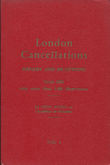 DUBUS L. London cancellations. - Repairs and re-cuttings from 1840.
