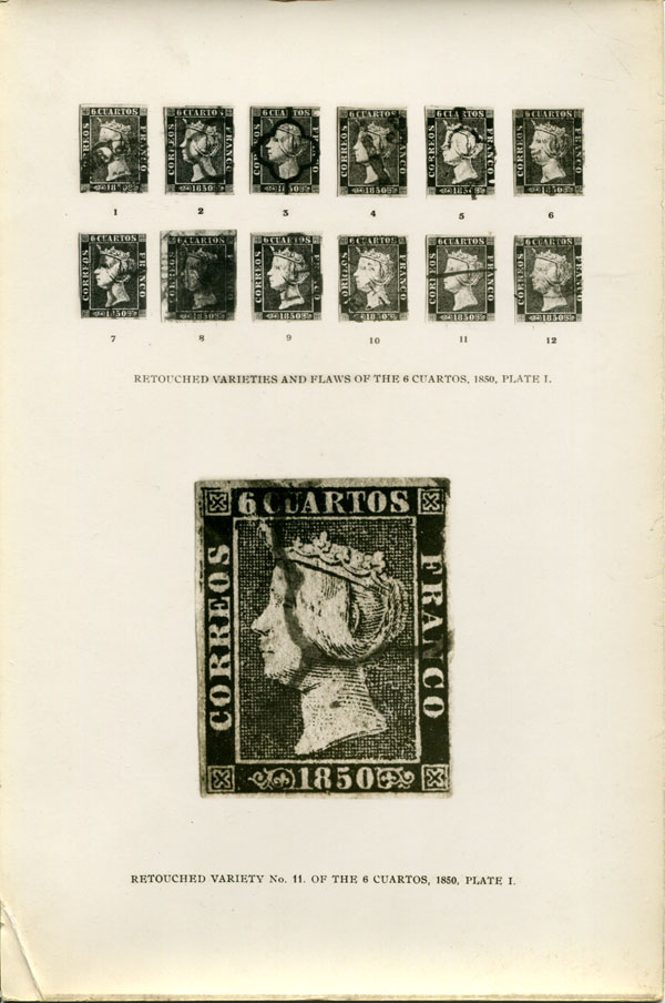 GRIEBERT Hugo The Stamps of Spain 1850 to 1854. - With a special study of the stamps of the first issue 1850, including a full description of varieties, transfer errors, obliterations, etc.