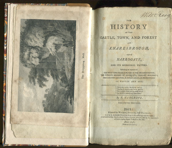 HARGROVE E. The History of the Castle, Town and Forest of Knaresborough; - with Harrogate, and its Medicinal Springs.