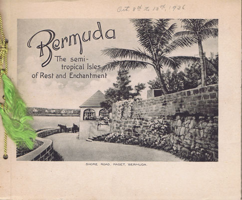 HERRINGTON N.W. Bermuda. - Isles of rest and enchartment.