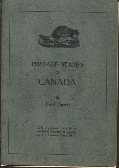 JARRETT F. Postage stamps of Canada.