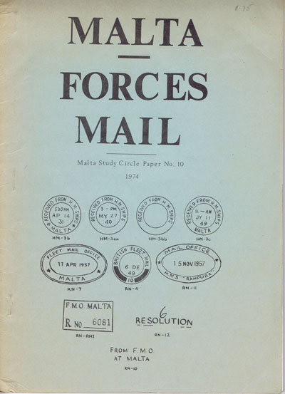 MALTA Malta Forces Mail
