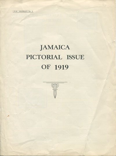 MATHES R.A. Jamaica Pictorial issue of 1919.