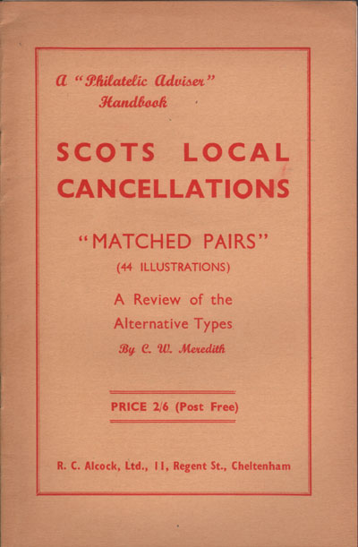 MEREDITH C.W. Scots Local Cancellations. - Matched Pairs.  A review of the alternative types.