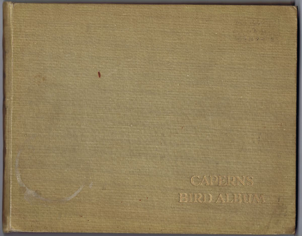 CAPERN Official album containing 48 trade cards of cage birds