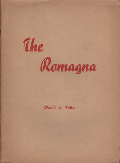 PATTON Donald S. The Romagna