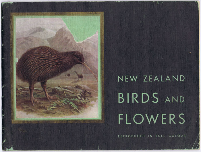 REED A.H. and REED A.W. New Zealand Birds and Flowers. - A selection of colour plates.
