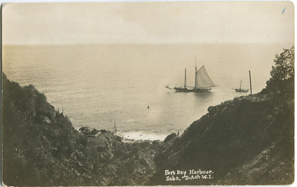ANON Fort Bay Harbour, Saba, Dutch W.I.