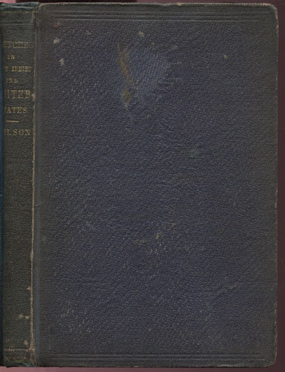 WILSON T. Transatlantic sketches; - or Travelling Reminiscences of the West Indies and United States.
