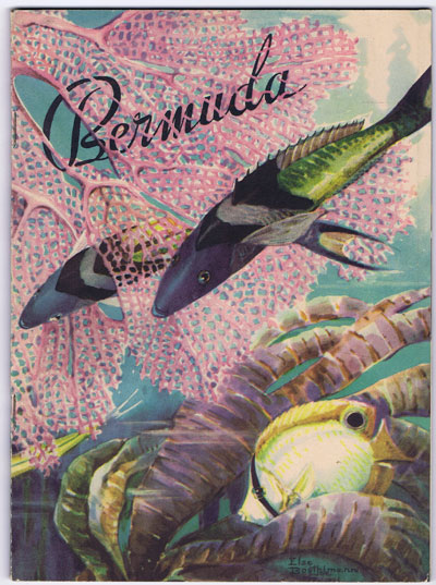 BERMUDA Government Tourist brochure.