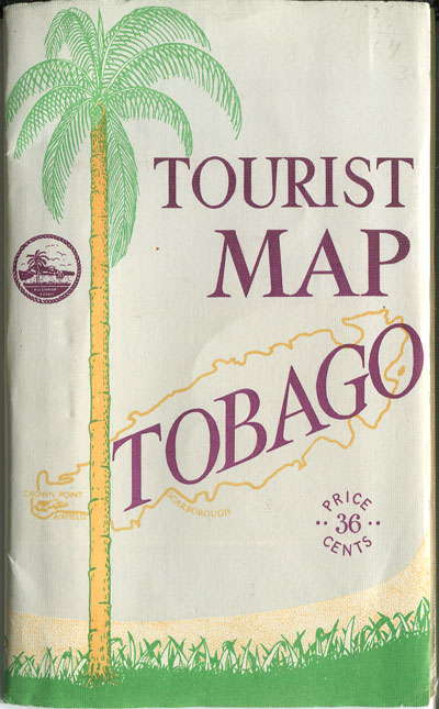 DIRECTOR OF SURVEYS Tourist Map of Tobago.