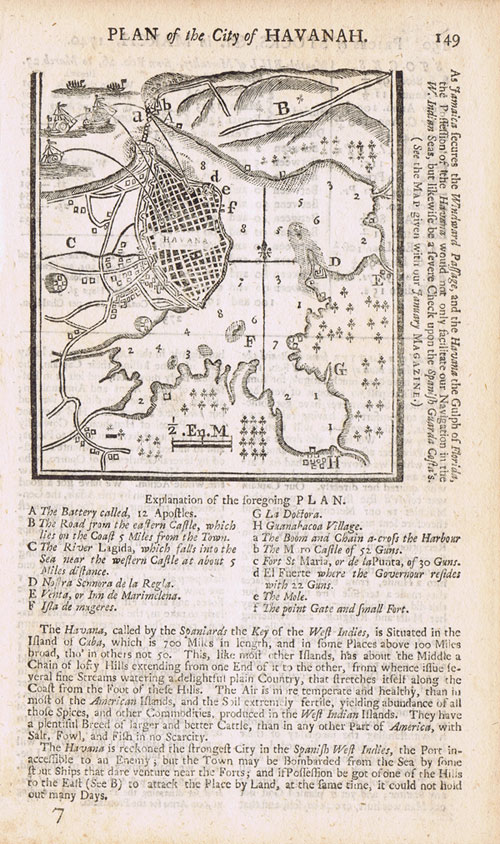ANON Plan of the City of Havanah.