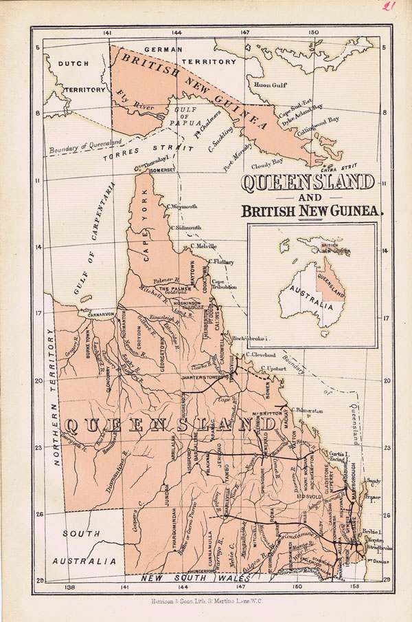HARRISON & SONS ueensland and British New Guinea.
