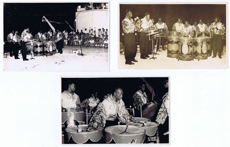 1959 Brute Force steel band from Antigua on HMS Vidal.