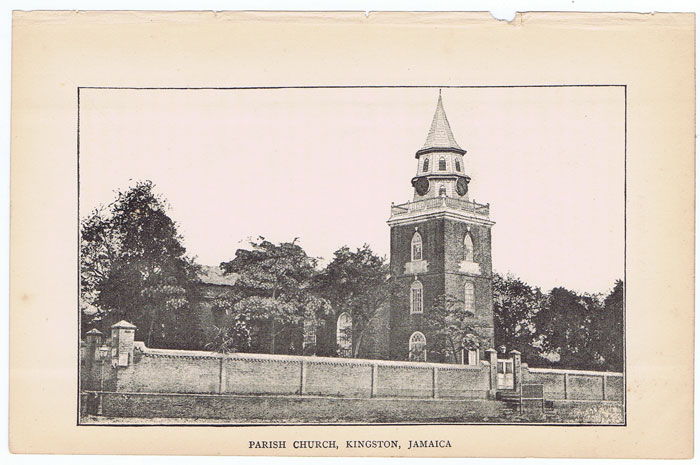 ANON Parish Church, Kingston, Jamaica.