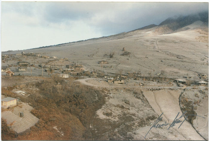 WEST Kevin Montserrat volcanic erruption.