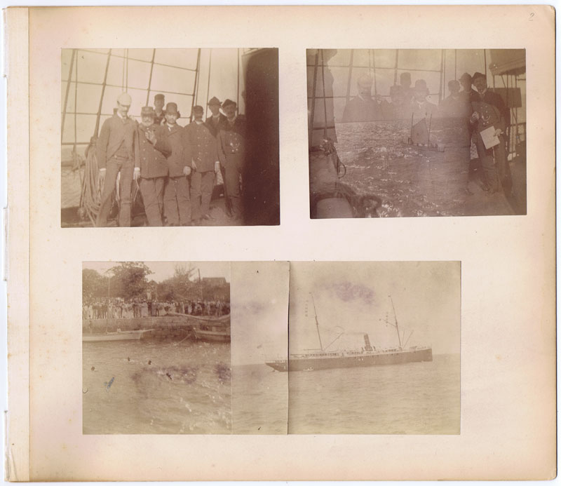 1895 (Circa) Photographic record of a voyage to  Santiago, Cuba.