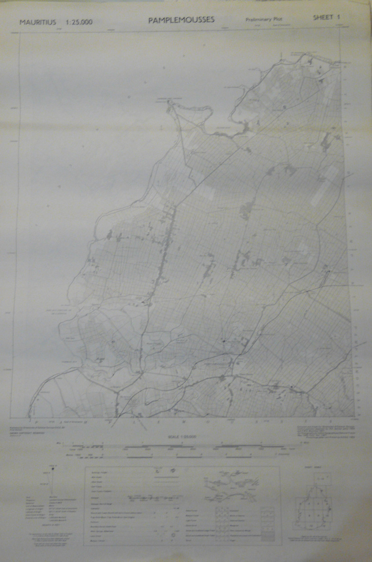 Old Ordnance Survey Maps 1960 Large Ordnance Survey Map