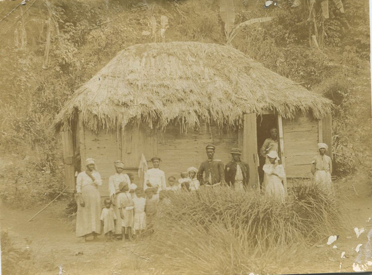 ANON Native family, St Vincent.