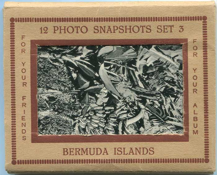BERMUDA Bermuda Islands. 12 Photo Snapshots - Set 3