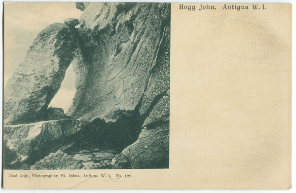 JOSE ANJO Hogg John. Antigua,W.I. - No 120