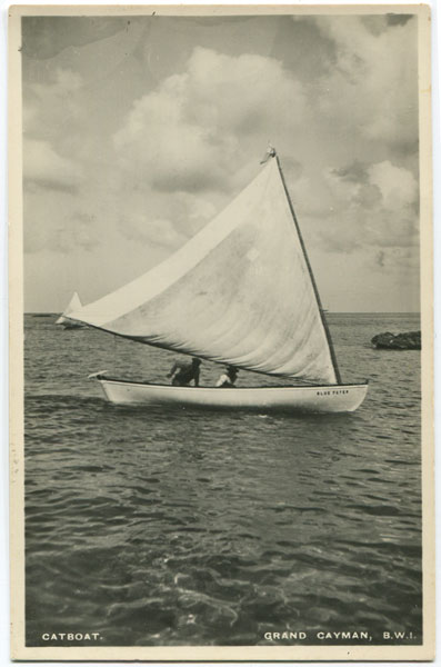 ANON Catboat. Grand Cayman, B.W.I.