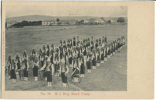 A DUPERLY & SONS No 26. M.J. Reg. Band. Camp.