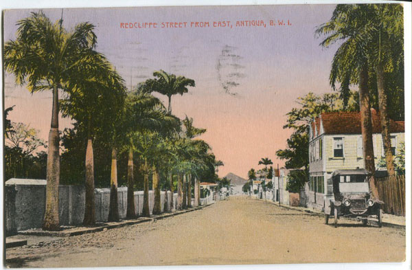 JOSE ANJO Redcliffe Street from East, Antigua, B.W.I.