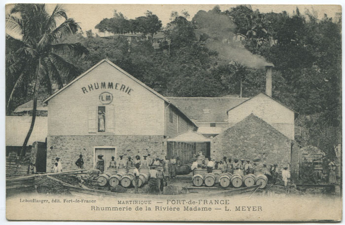 LEBOULLANGER Rhummerie de la Riviere Madame - L. Meyer. - Martinique - Fort de France.