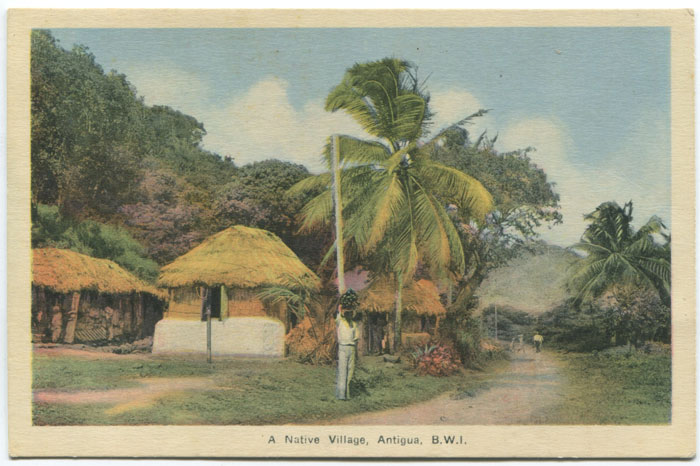 PECO A Native Village, Antigua, B.W.I.