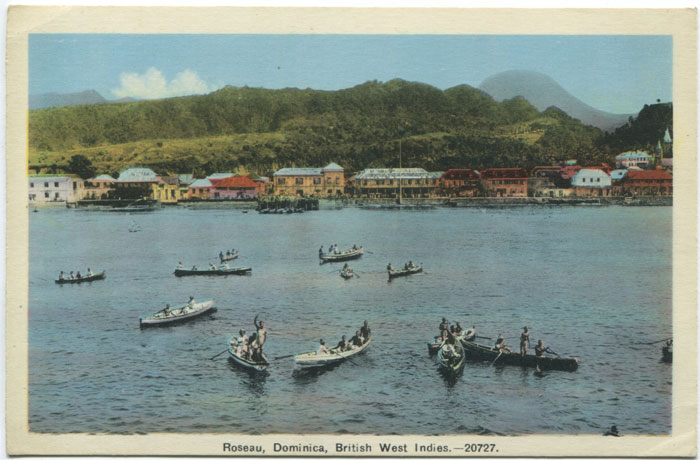 PECO Roseau, Dominica, British West Indies. - 20727
